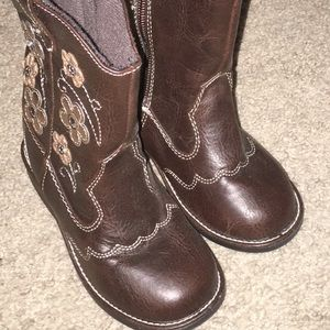 Adorable Toddler Cowgirl Boots